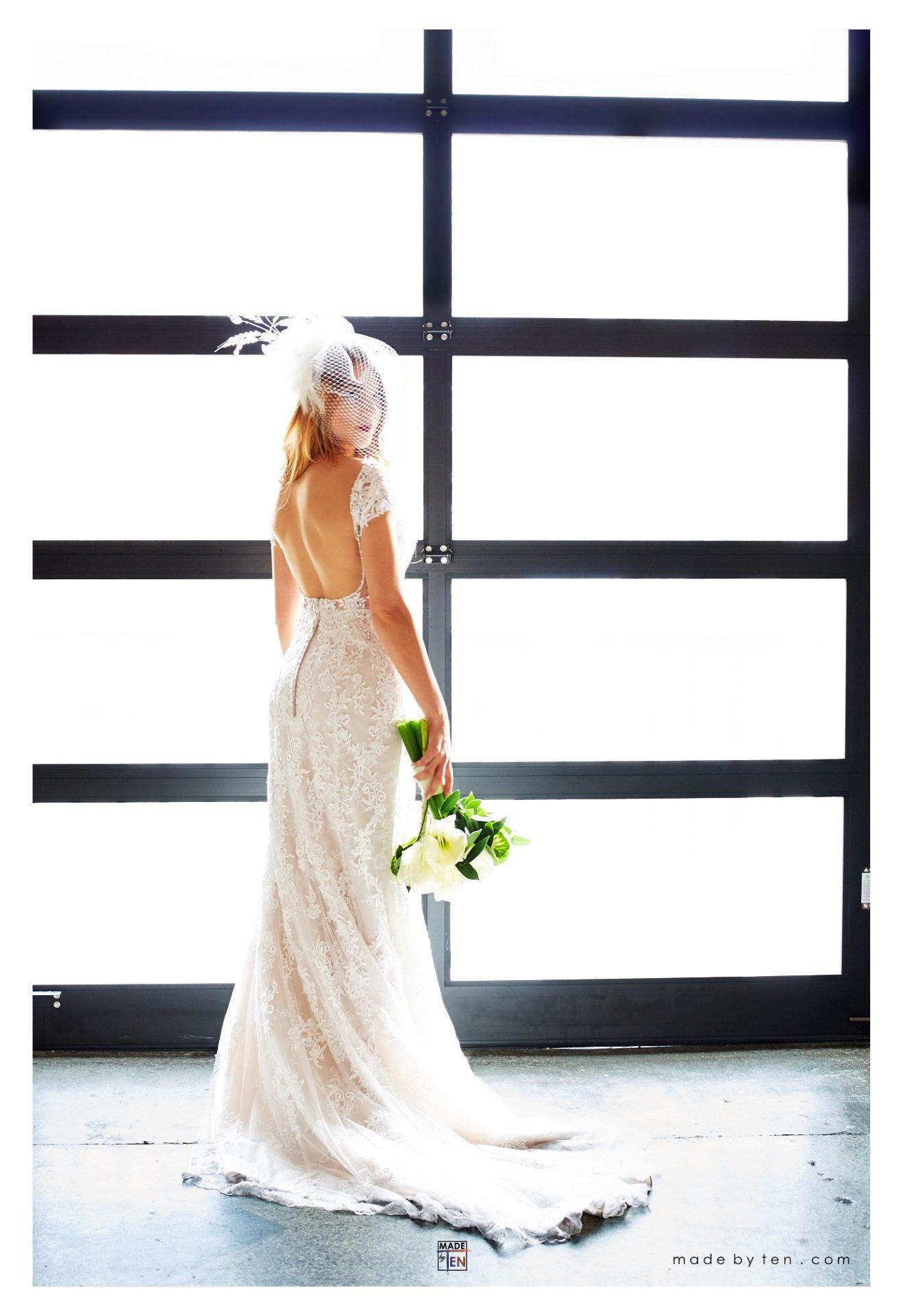Beautiful Wedding Dress Head Veil - GTA Women Bridal Photography
