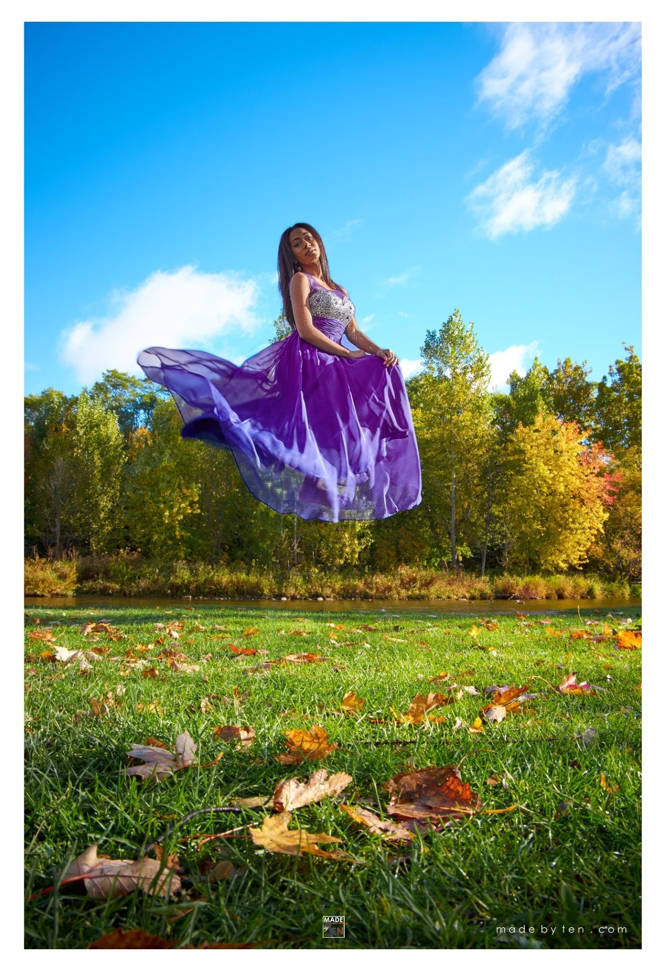 Dress Floating Levitating Fall - GTA Women Fantasy Photography