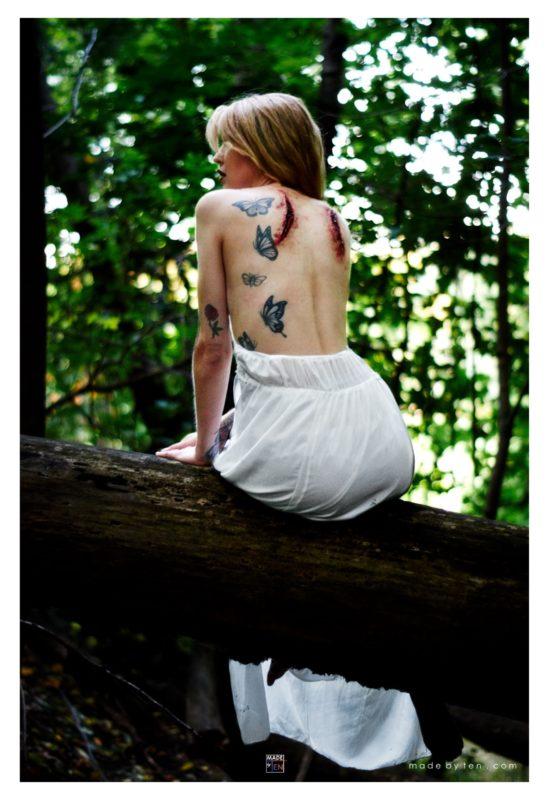 Angel Missing Wings - GTA Women Fantasy Photography