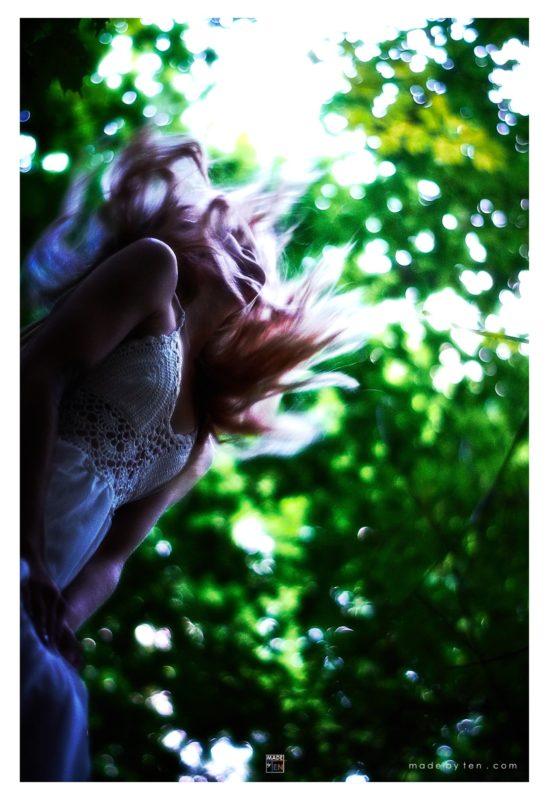 Falling Angel - GTA Women Fantasy Photography