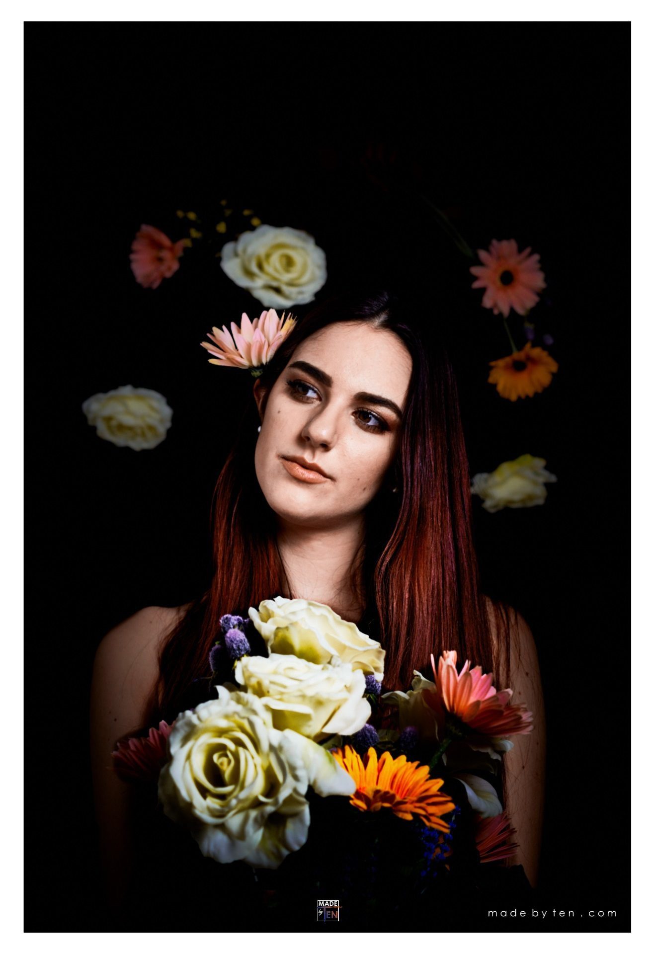 Made-by-Ten-Modern-Creative-Fine-Art-Portrait-Photography-GTA-Women-Toronto-Flower-Painting-1