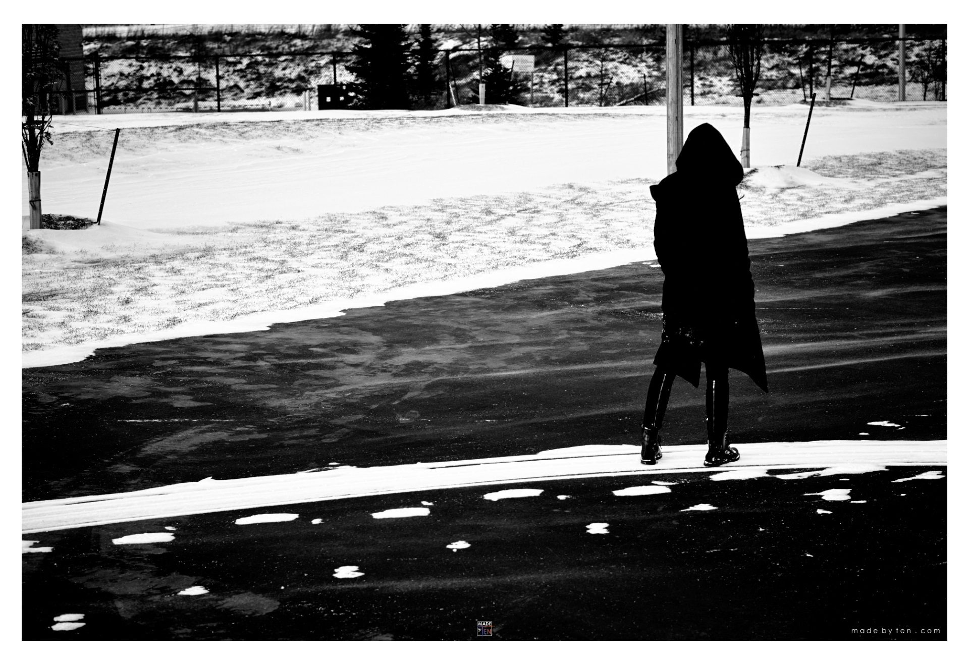 Made-by-Ten-Modern-Creative-Fine-Art-Portrait-Photography-GTA-Women-Toronto-Winter-Cold-Black-and-White-3