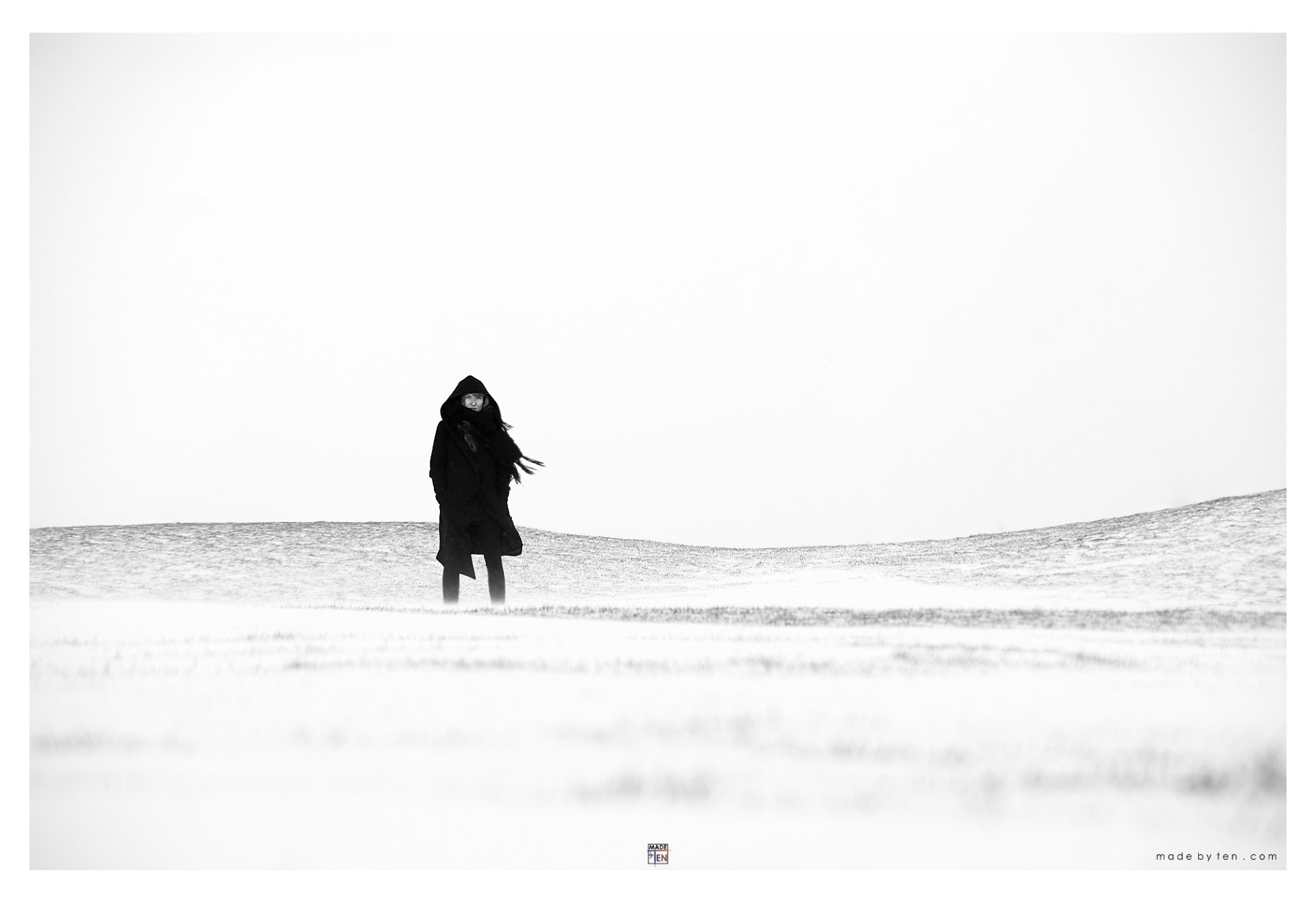 Made-by-Ten-Modern-Creative-Fine-Art-Portrait-Photography-GTA-Women-Toronto-Winter-Cold-Black-and-White-4