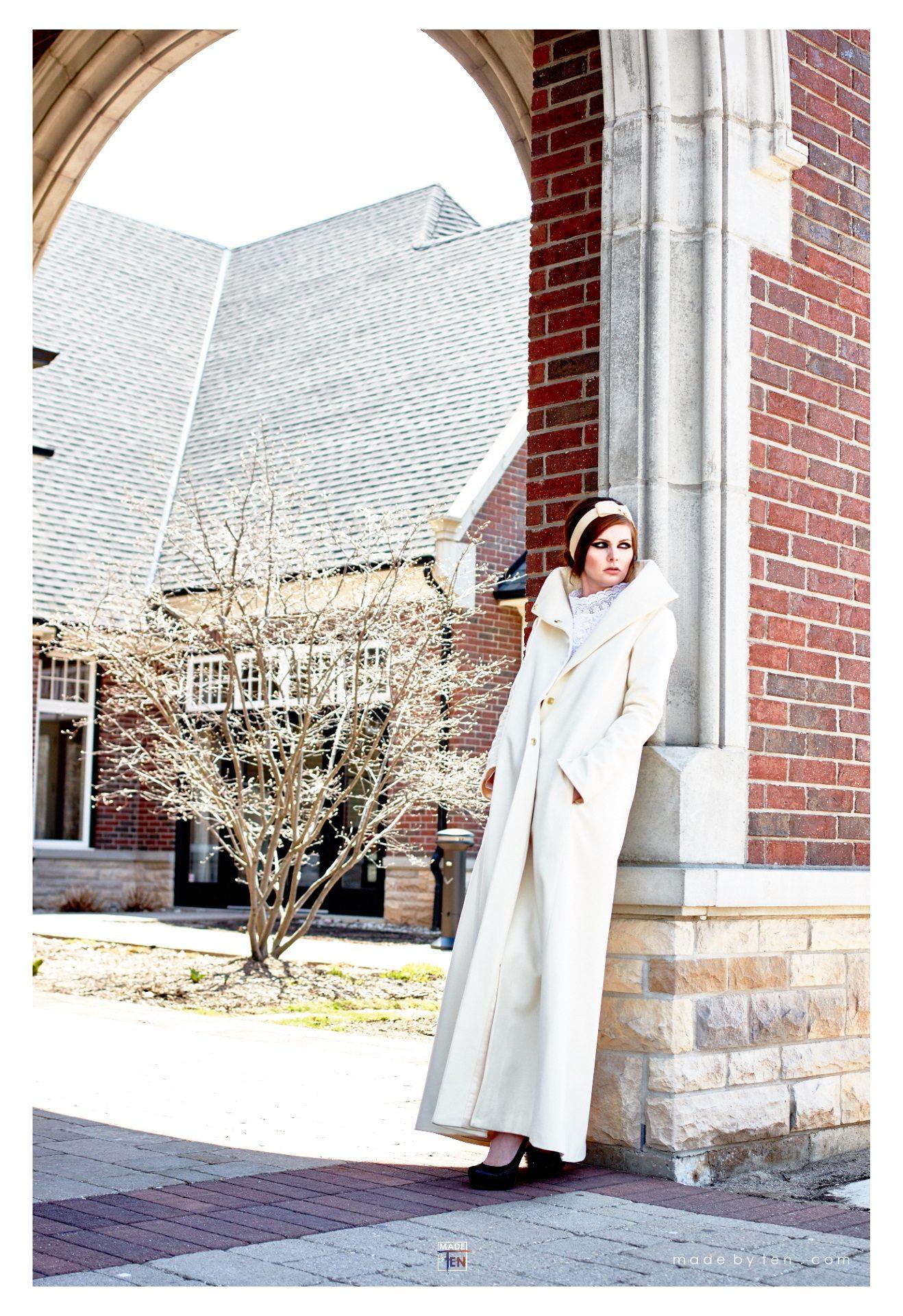 Woman Creative Jacket Building - GTA Women Fashion Photography
