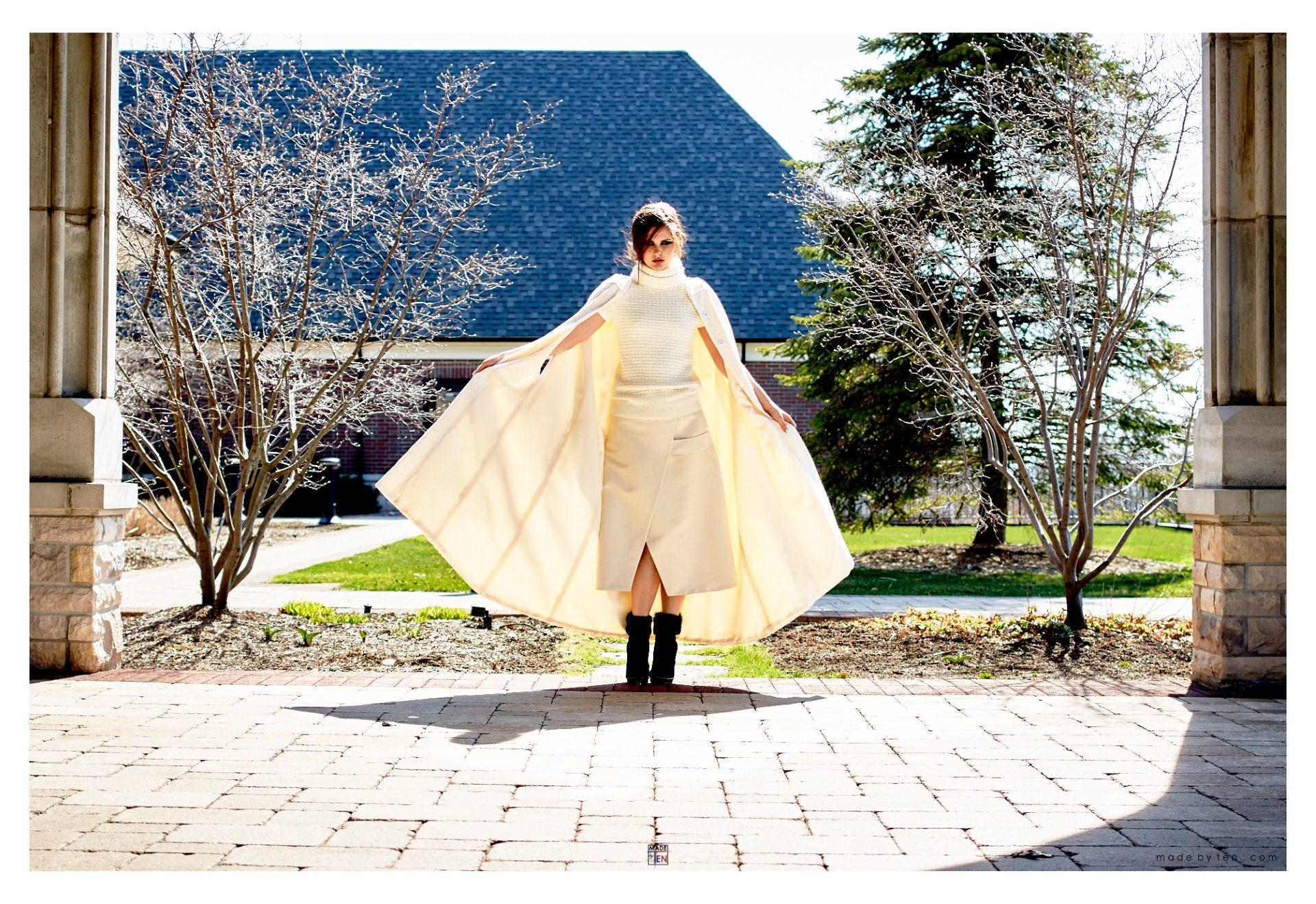 Woman Creative Cape - GTA Women Fashion Photography