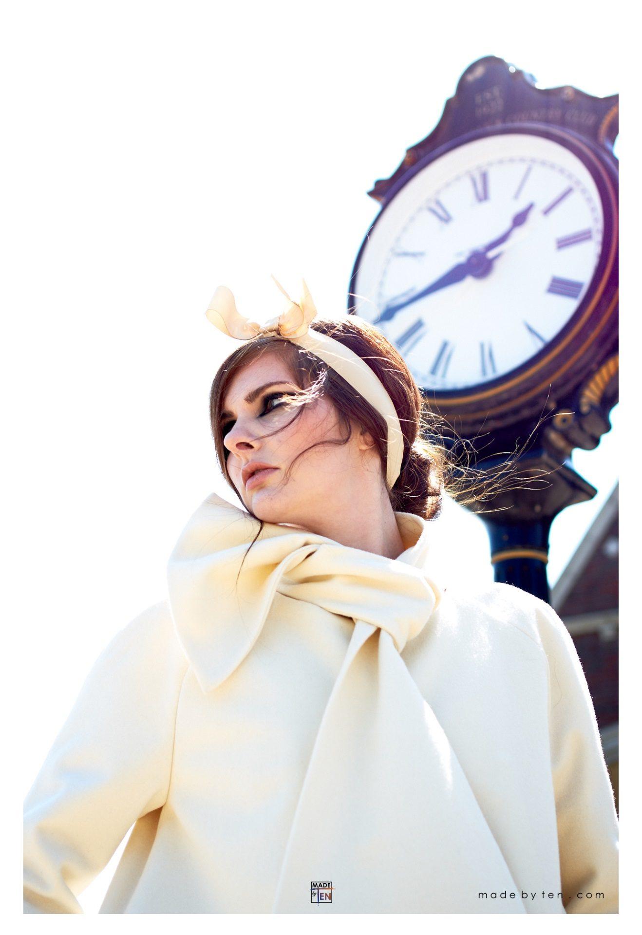 Woman Creative Jacket Clock- GTA Women Fashion Photography