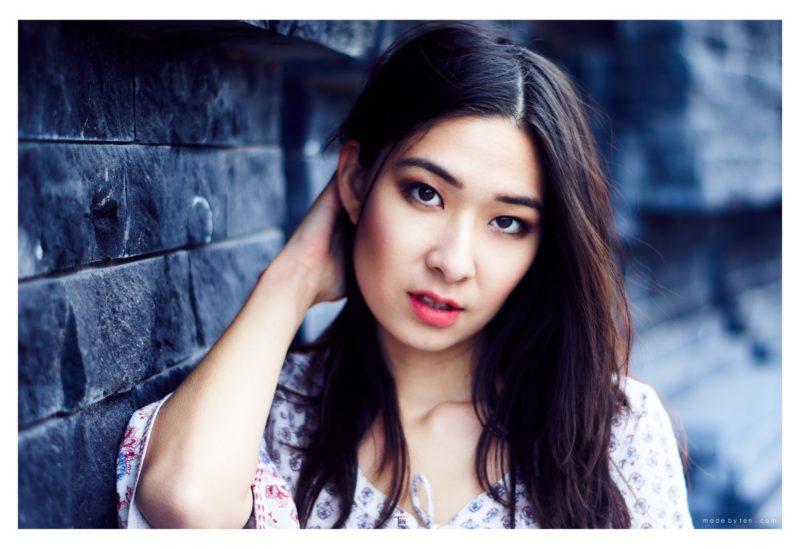 Woman Headshot Rocks - GTA Women Lifestyle Photography