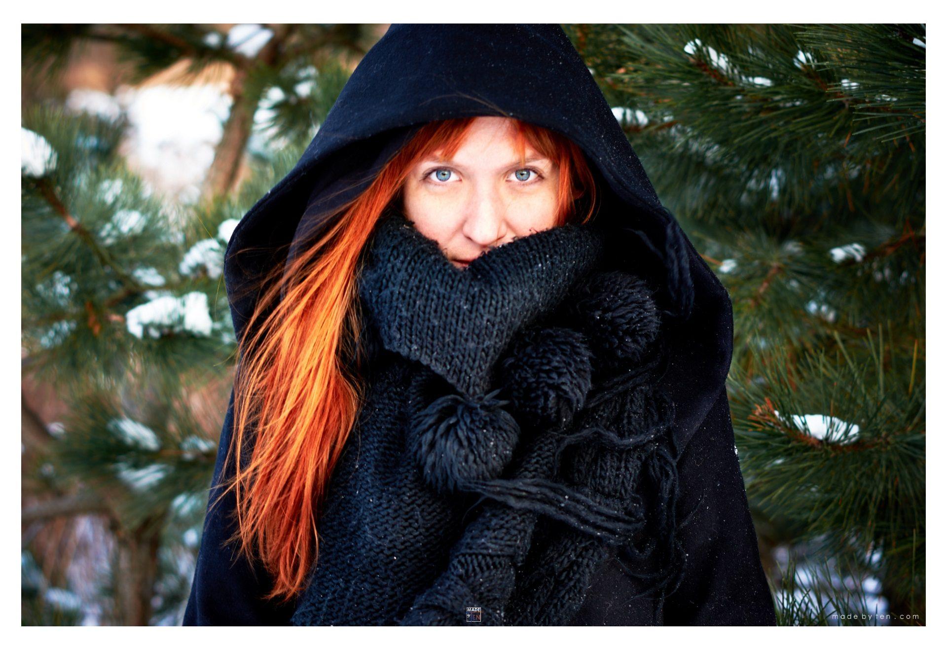 Woman Headshot Winter - GTA Women Lifestyle Photography