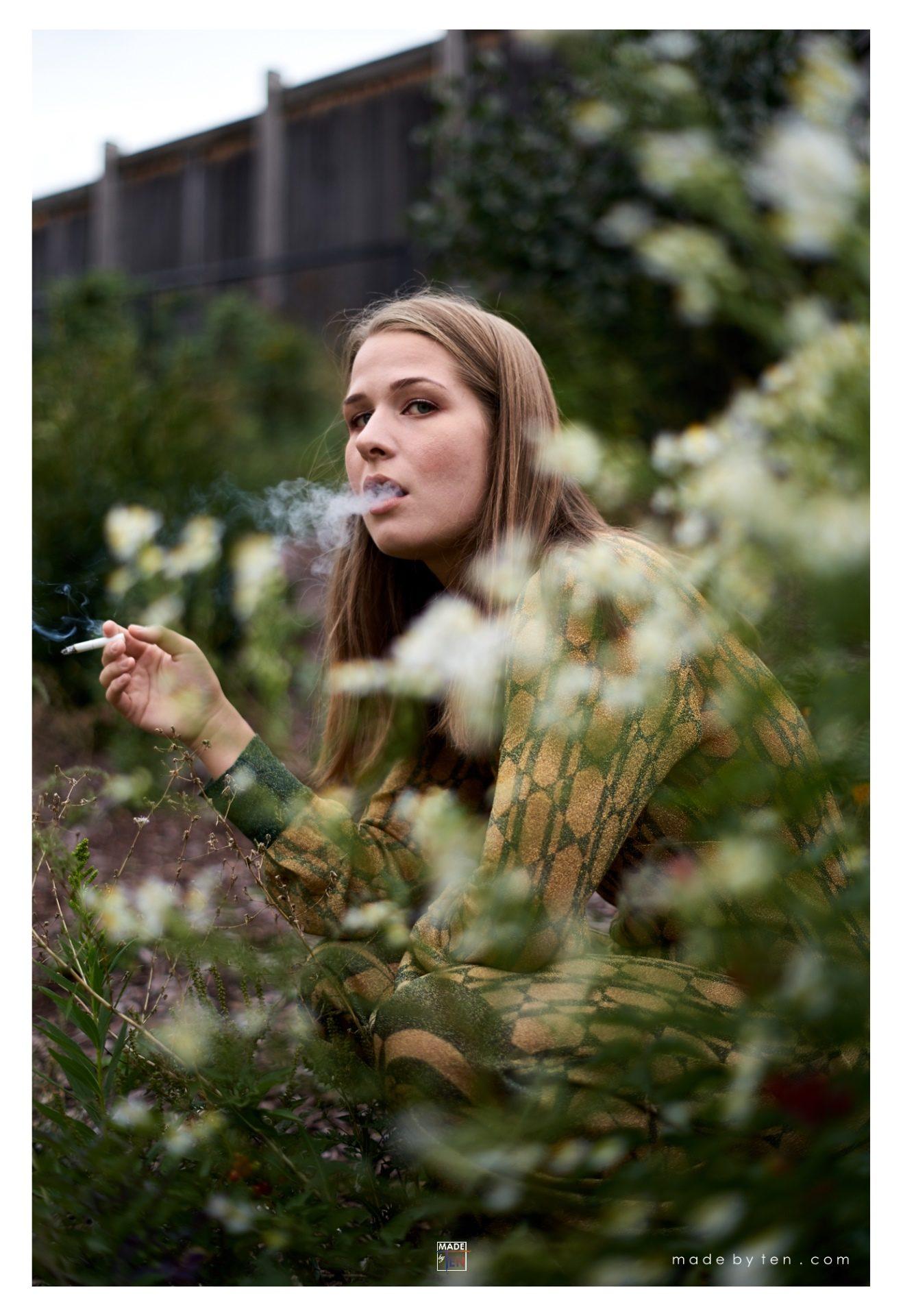 Smoking - GTA Women Art Photography