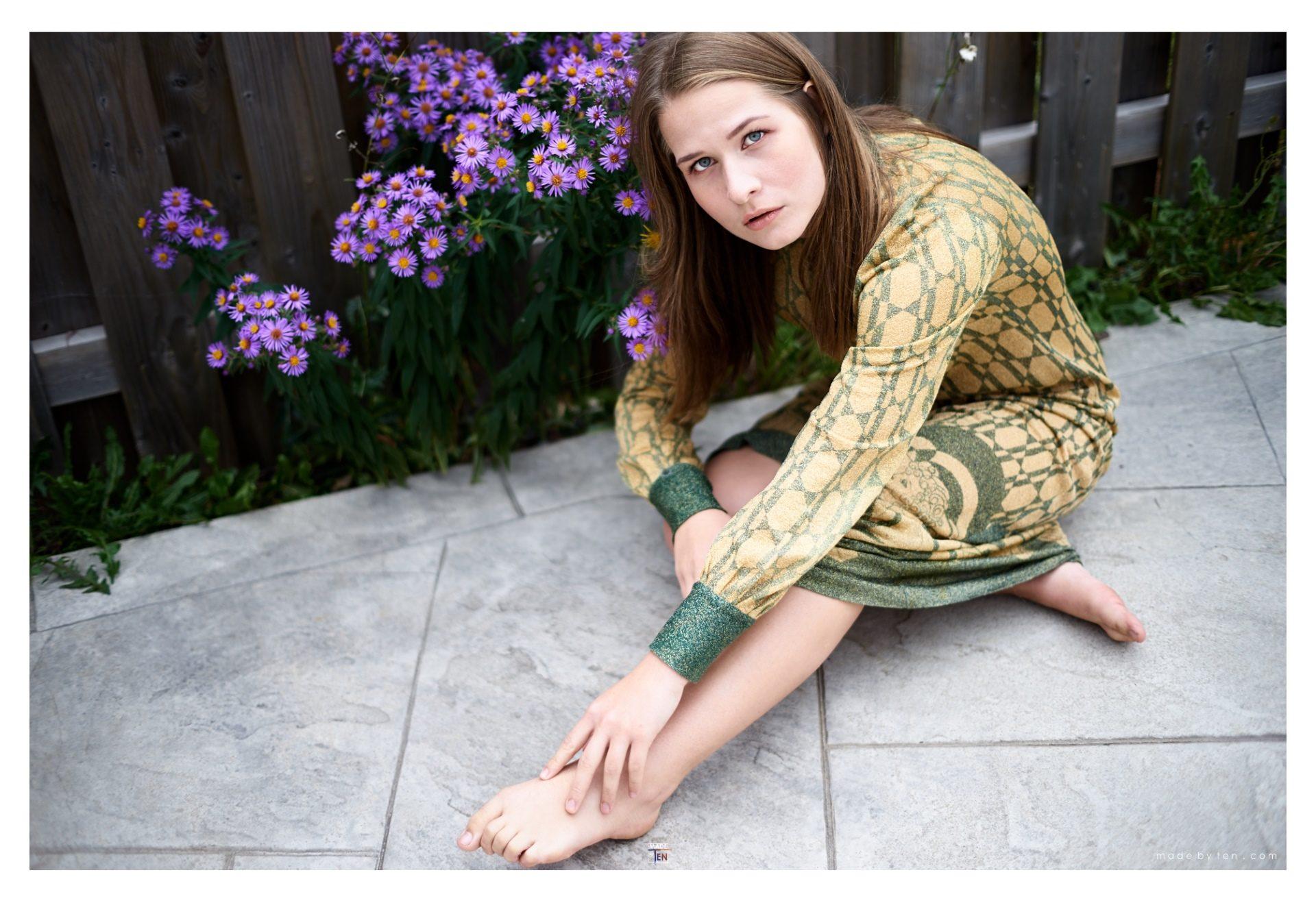 Purple Flowers - GTA Women Art Photography