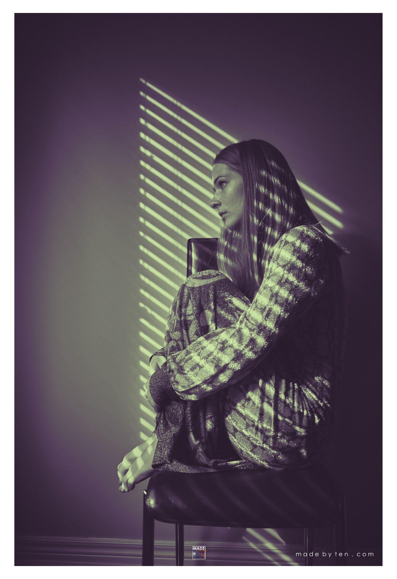 Sitting by Window - GTA Women Art Photography