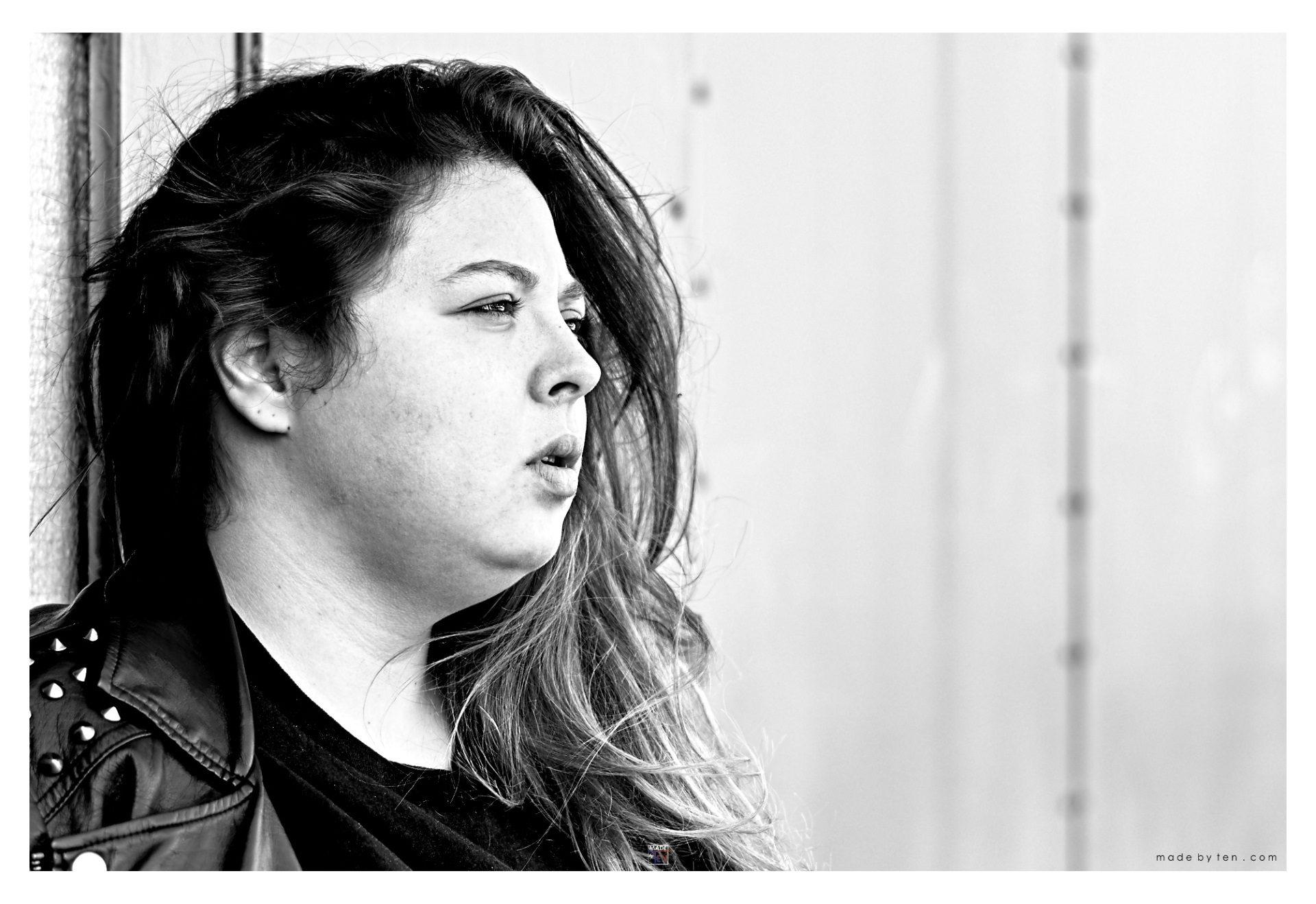 Woman Building Facade - GTA Women Portrait Photography