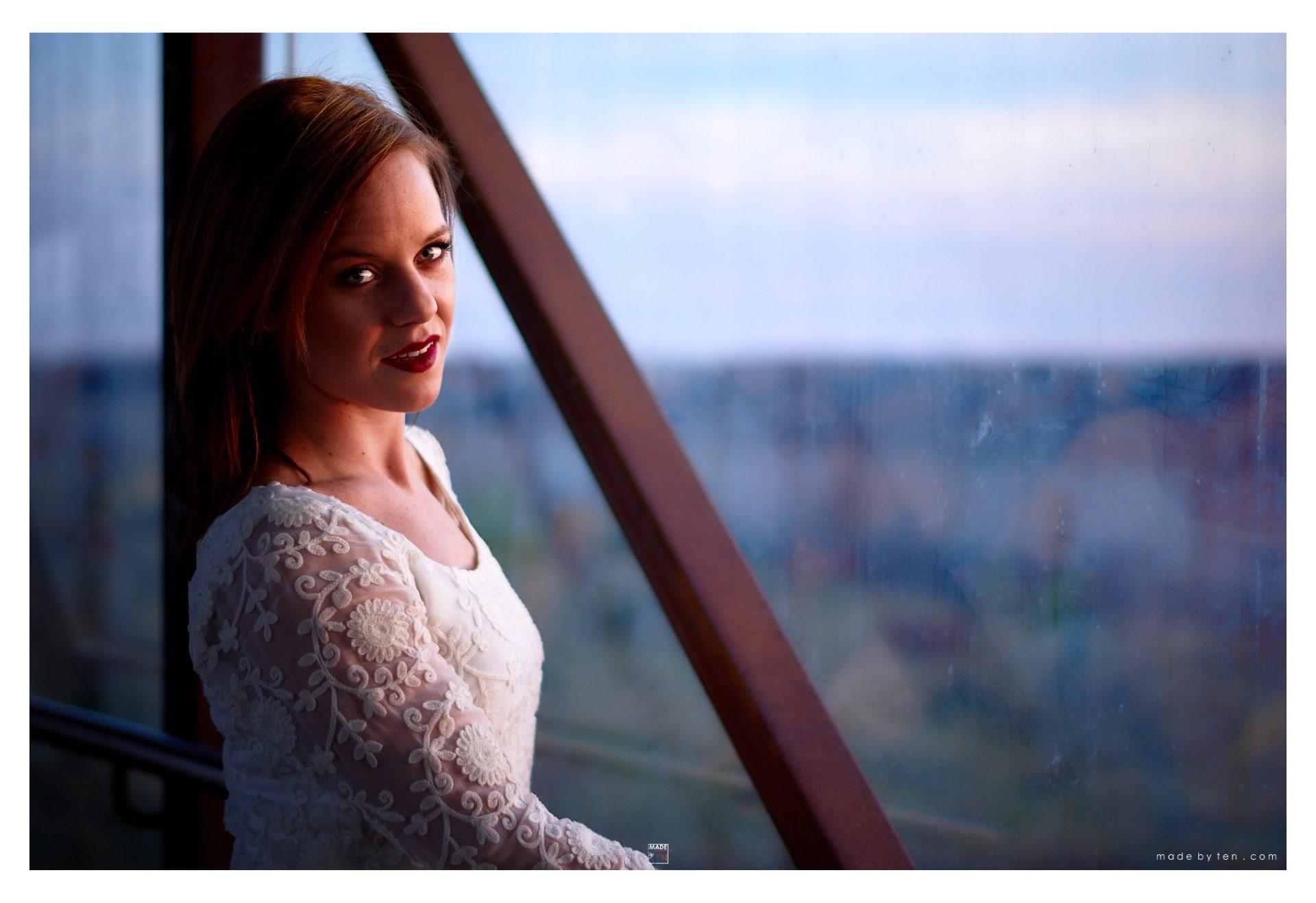 Woman Sunset Bridge - GTA Women Portrait Photography