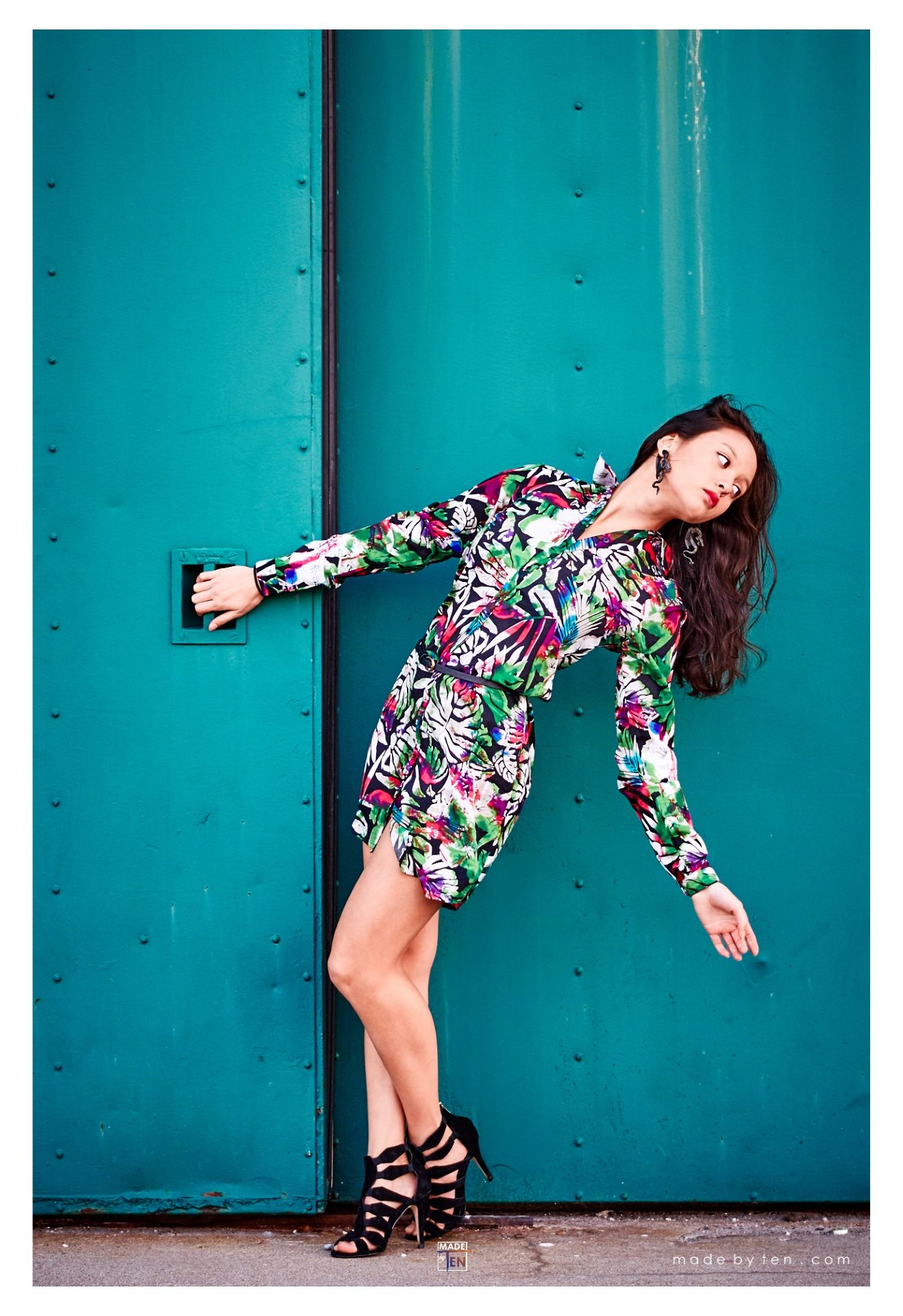 Green Door Fashion Editorial - GTA Women Lifestyle Photography