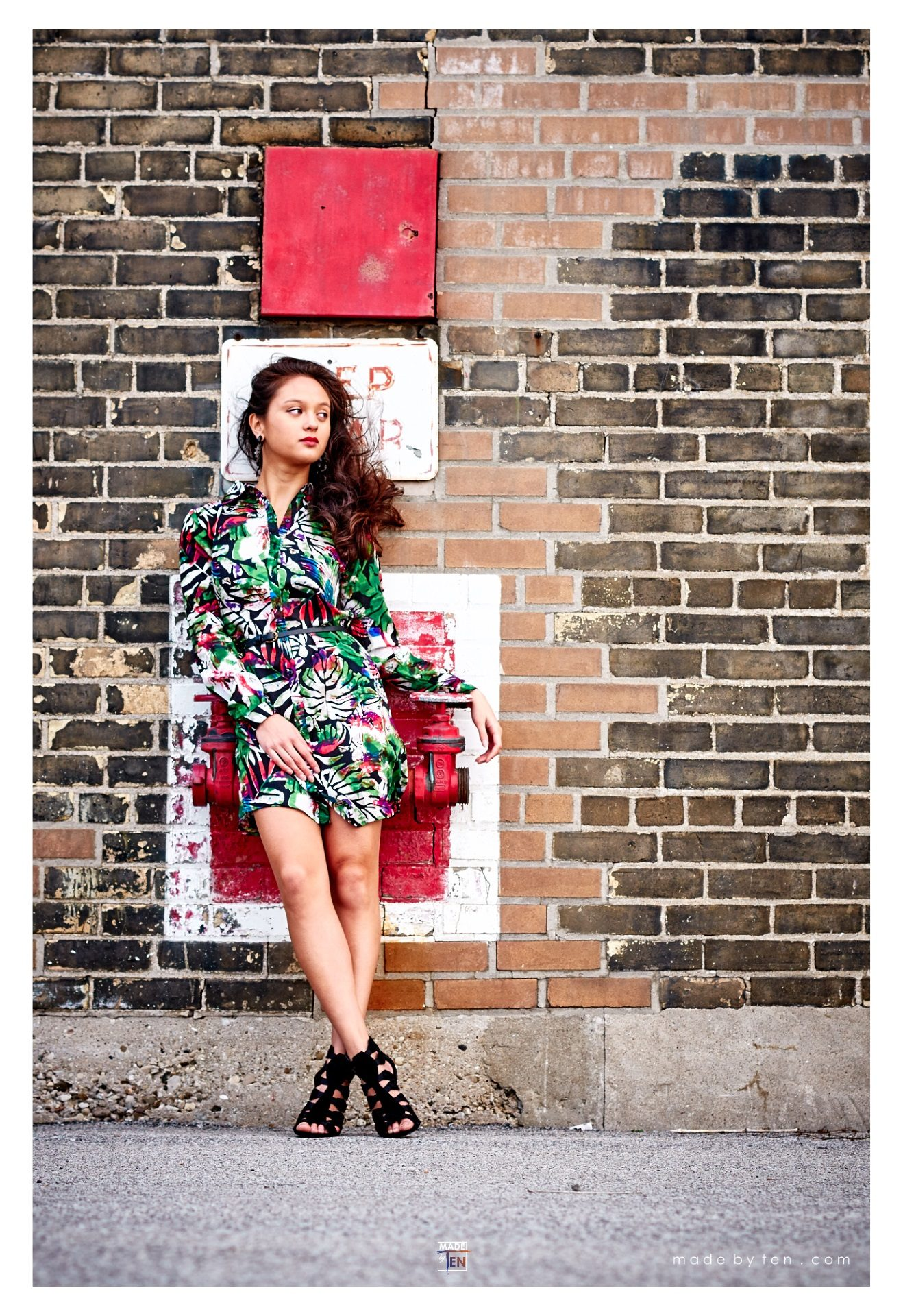 Hydrant Fashion Editorial - GTA Women Lifestyle Photography