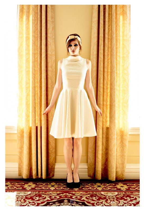 Light Location Fashion Photoshoot DIY Toronto