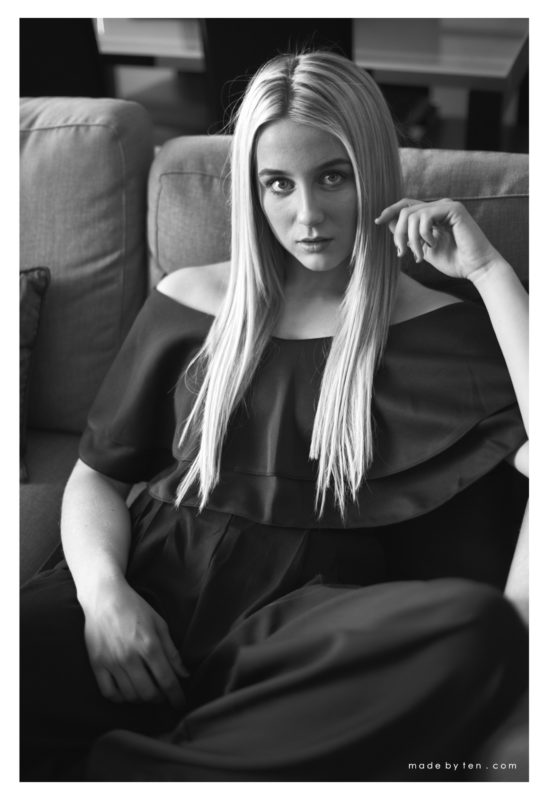 Black and White Fashion Photography Photoshoot Inspiration