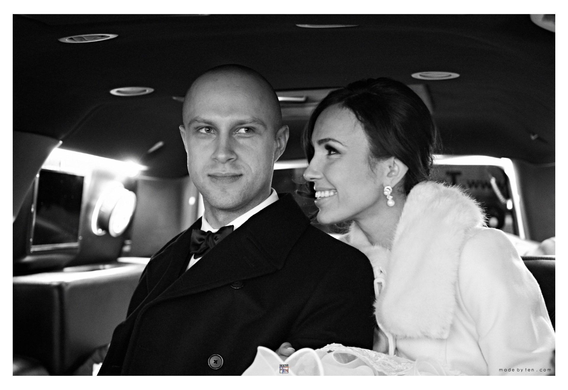 Wedding Photography GTA Limo