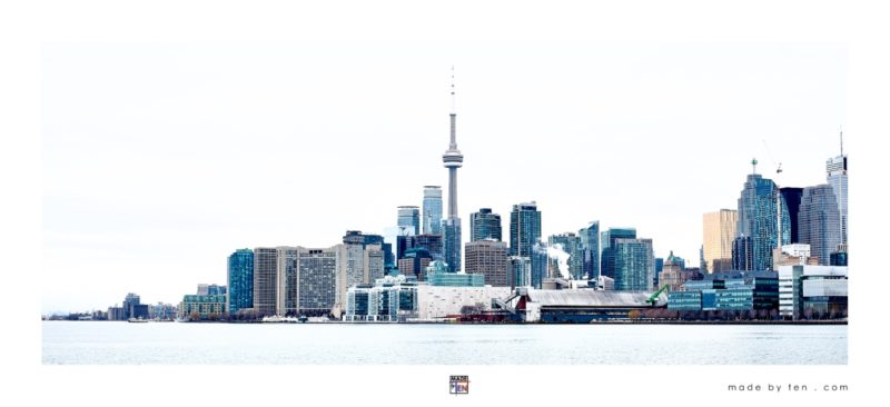 Made by Ten - Toronto Skyline