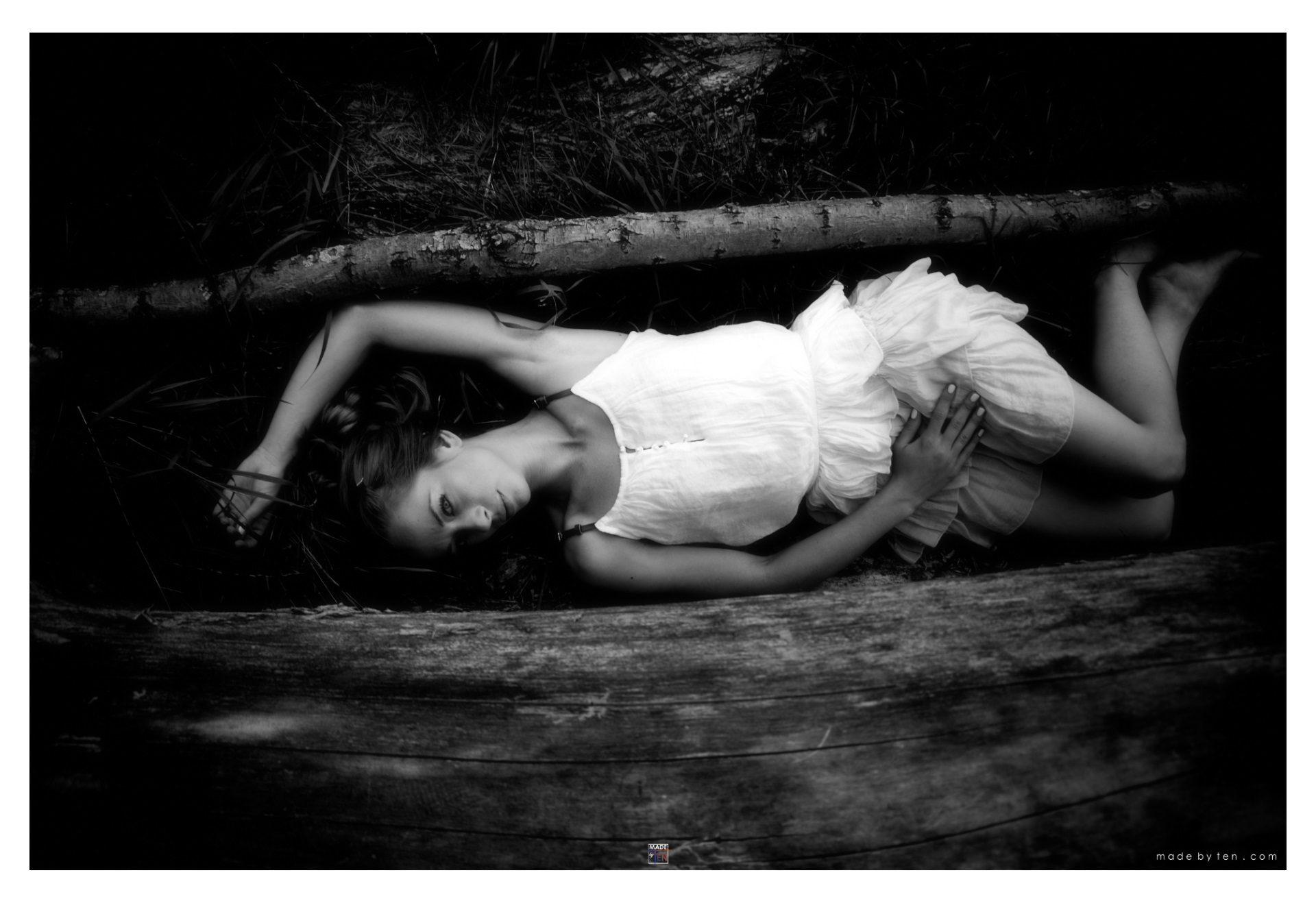 Woman Night Moonlight Nature - GTA Women Fine Art Photography