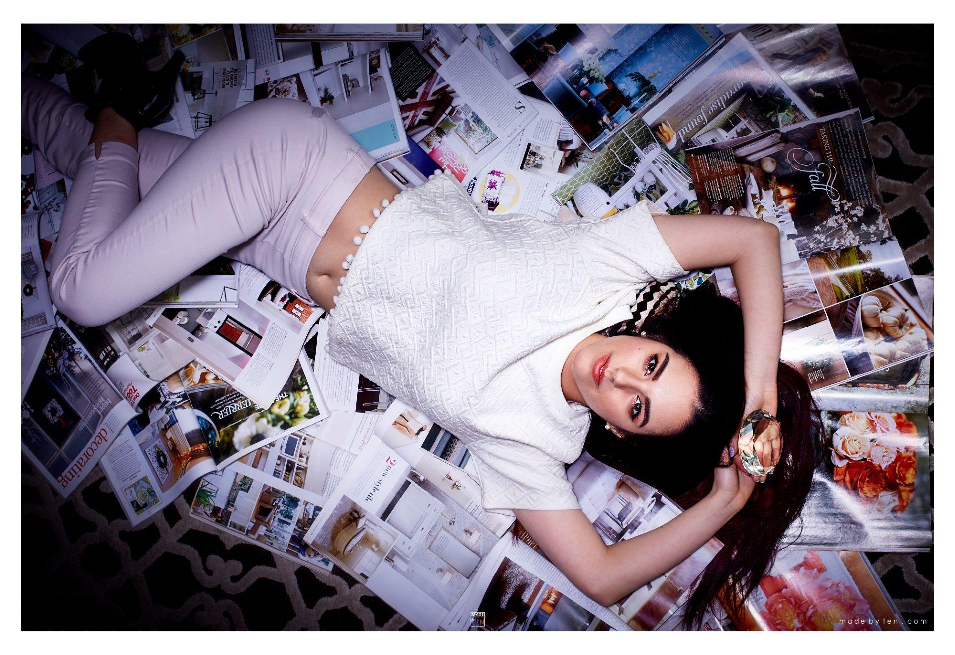 Magazines Music Editorial - GTA Women Fantasy Photography