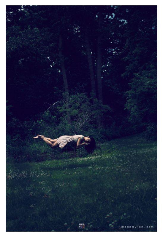 Creepy Floating Levitation - GTA Women Fantasy Photography