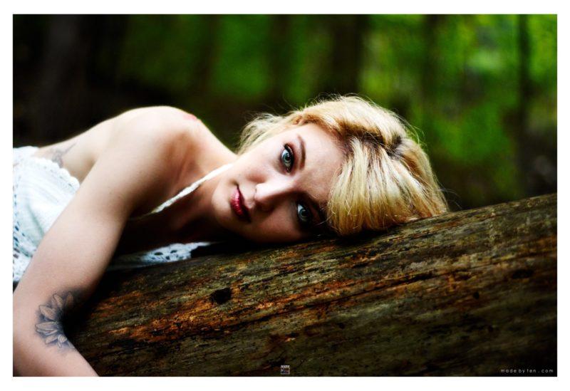 Fallen Angel Forest - GTA Women Fantasy Photography