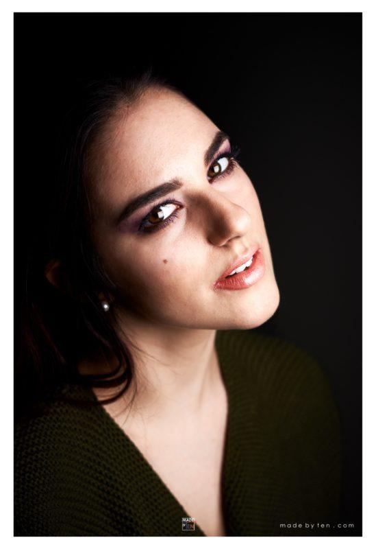 Woman Beautiful Headshot - GTA Women Portrait Photography