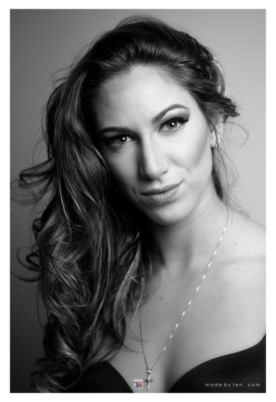 Woman Sensual Headshot - GTA Women Portrait Photography