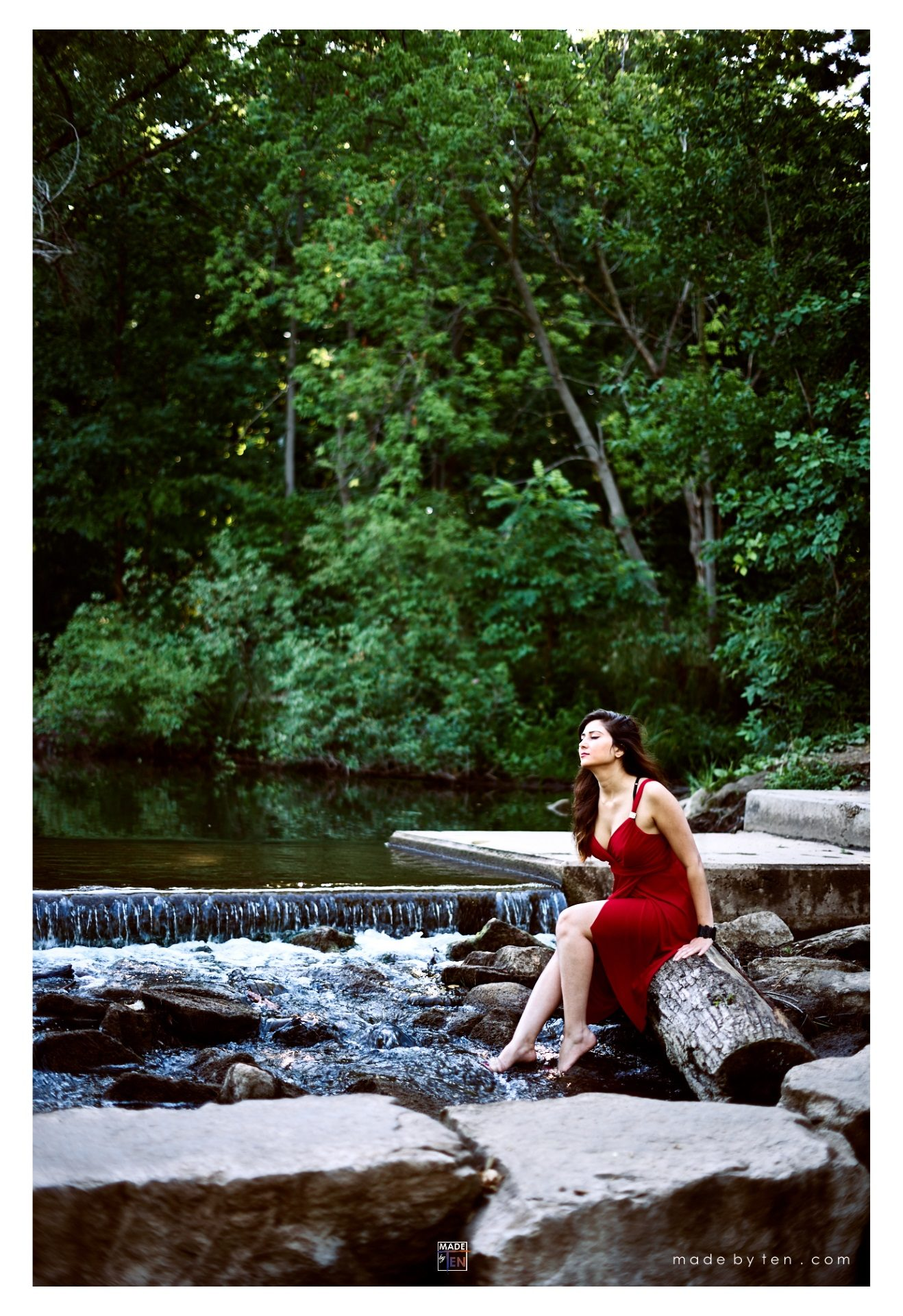 Woman Creek Rocks - GTA Women Lifestyle Photography