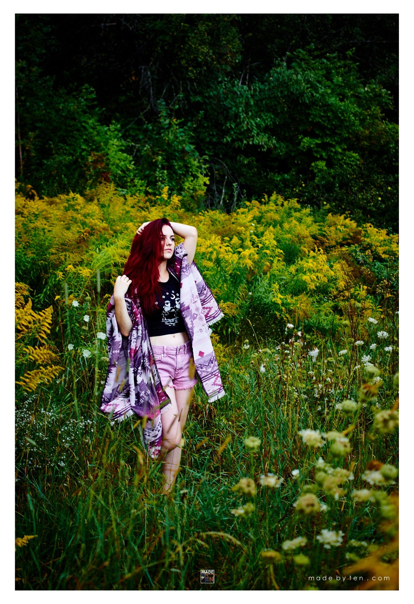 Woman Nature Fashion Field - GTA Women Lifestyle Photography