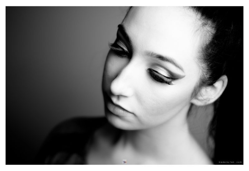 Woman Creative Glamour Headshot - GTA Women Portrait Photography