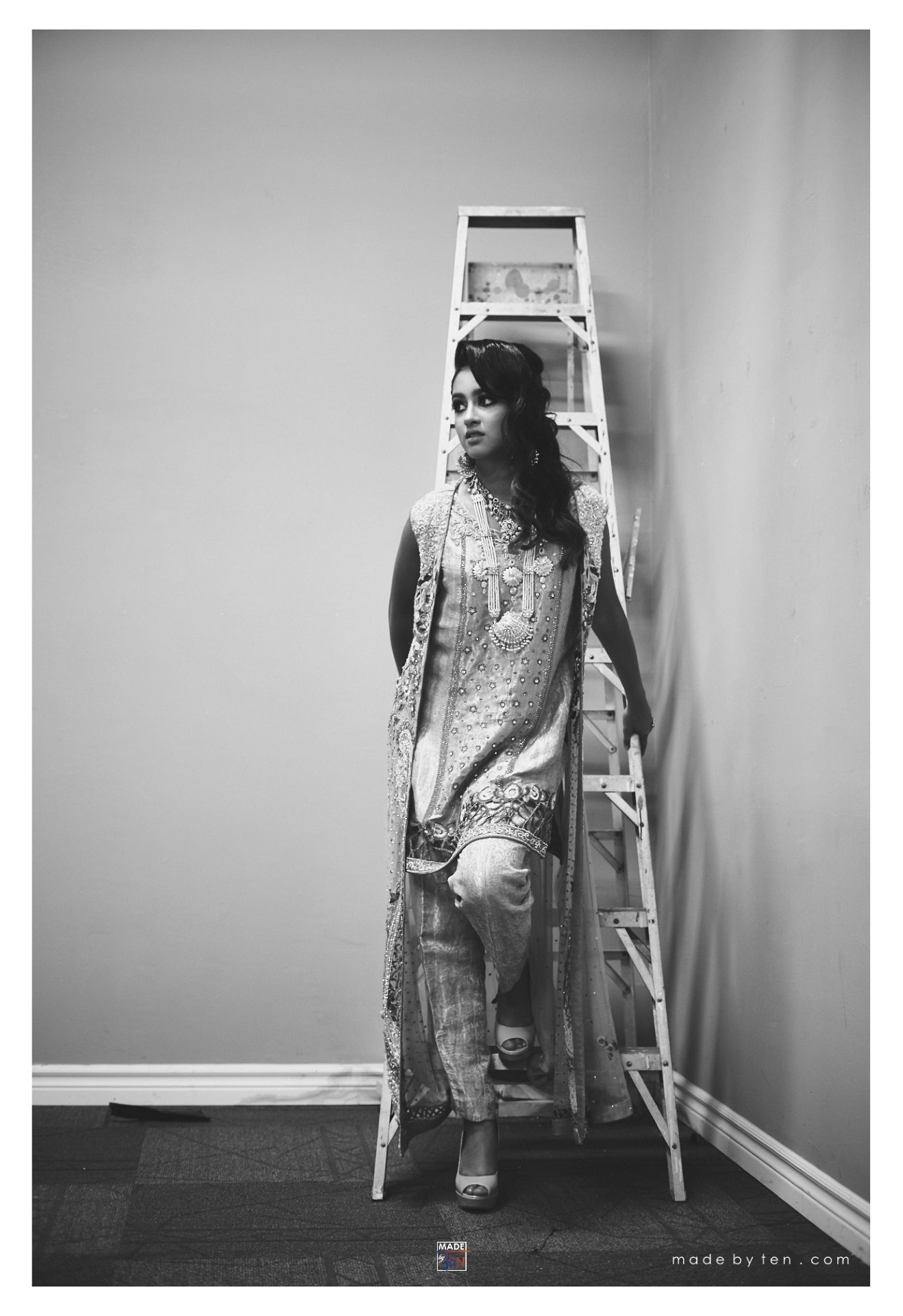 Woman Ladder - GTA Women Lifestyle Photography