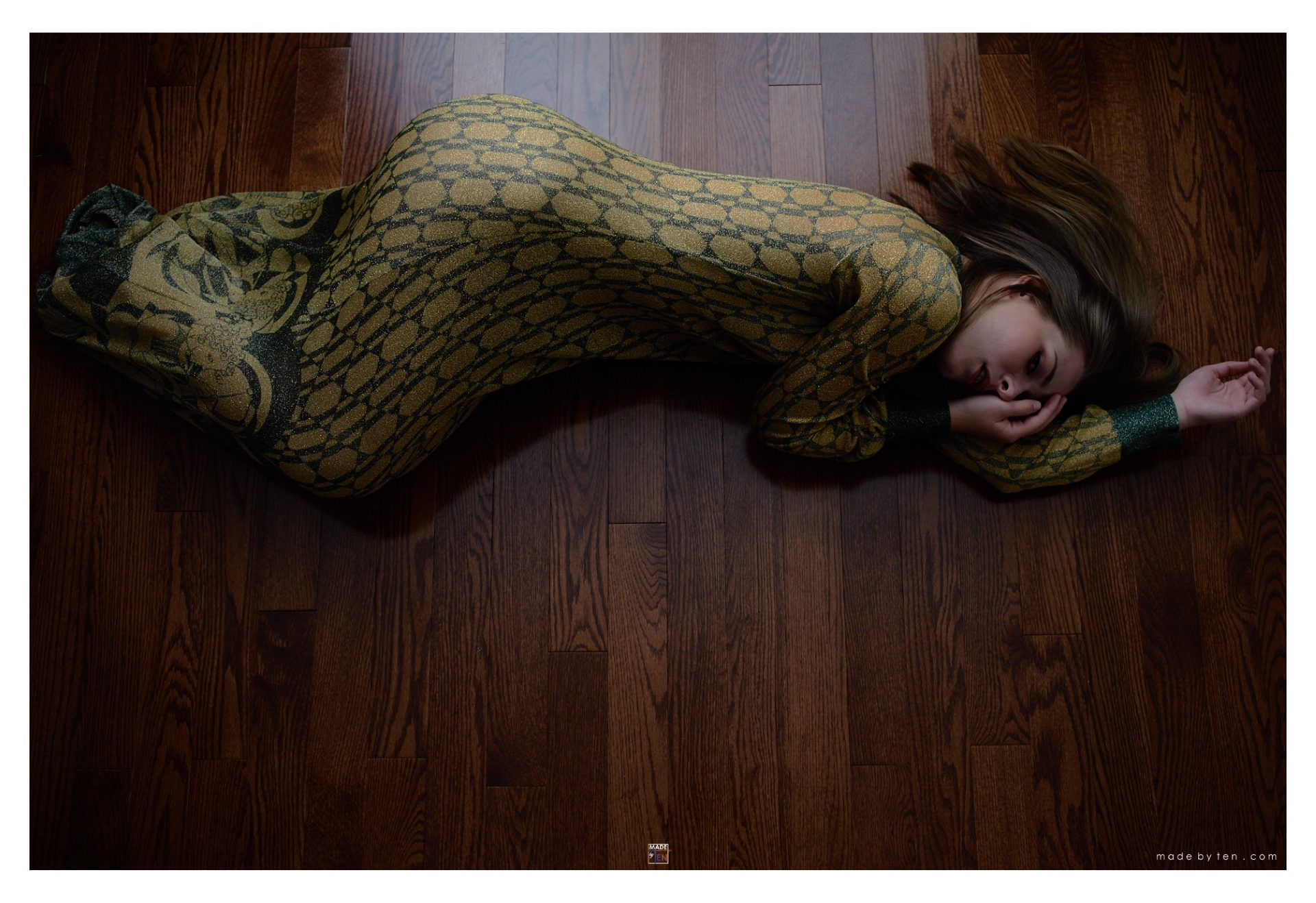 Lying on Floor - GTA Women Art Photography