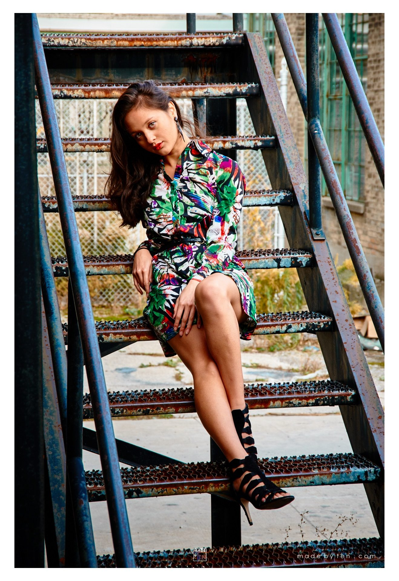 Building Steps Fashion Editorial - GTA Women Lifestyle Photography