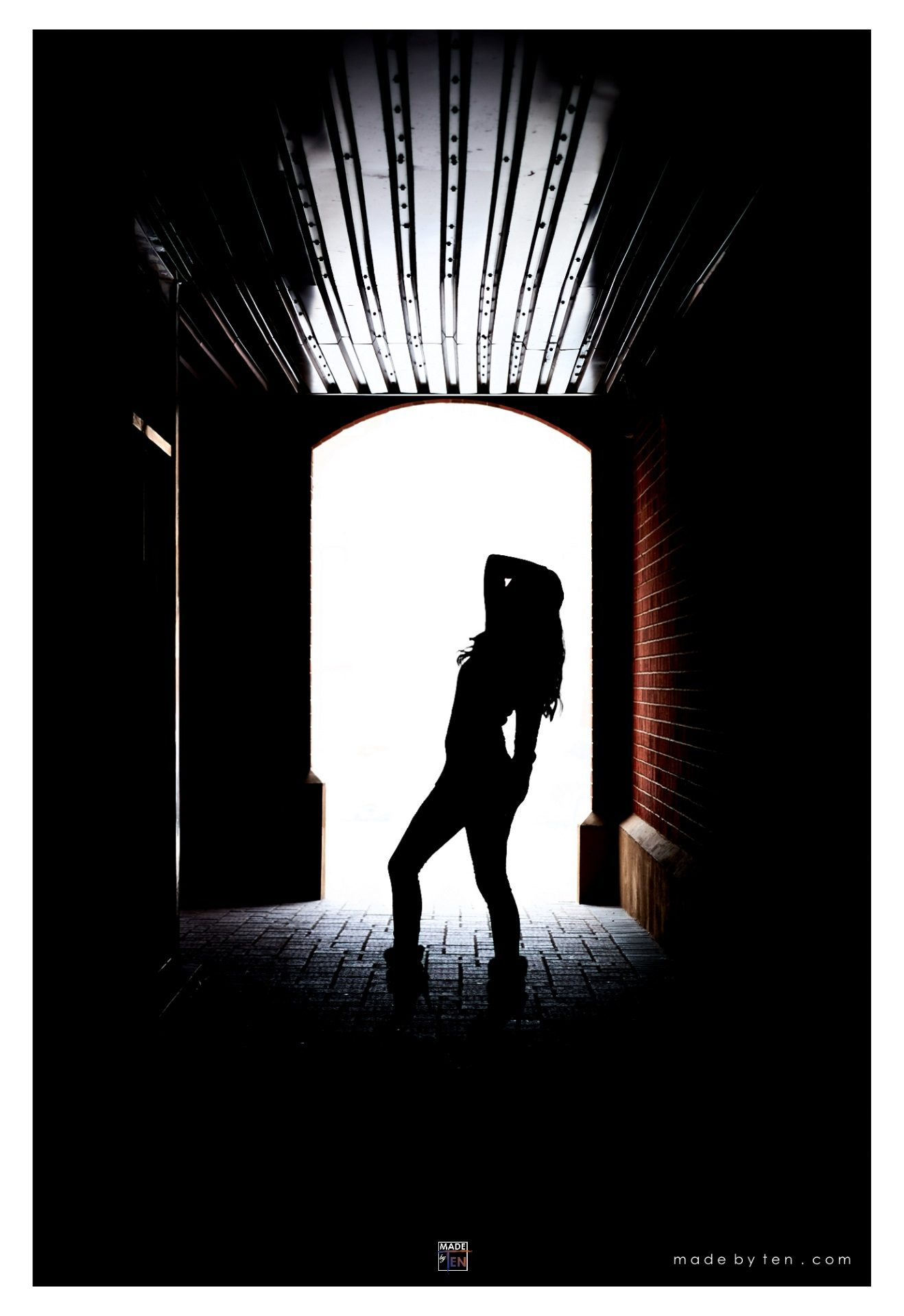 Woman Tunnel Silhouette - GTA Women Lifestyle Photography