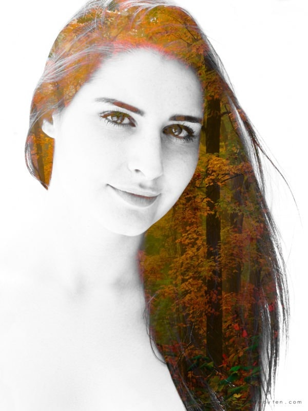 Autumn Art Confidence Portrait Photographer GTA Ontario