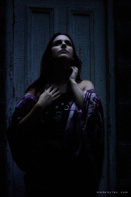 Dark Creepy Confidence Portrait Photographer GTA Ontario