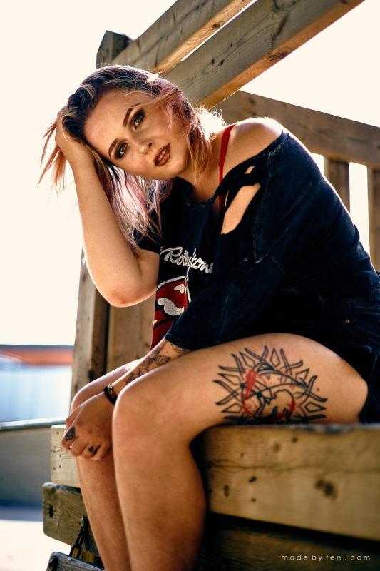 Tattoo Park Confidence Portrait Photographer GTA Ontario