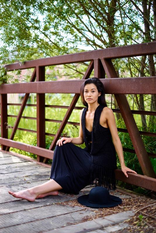 Bridge Confidence Portrait Photographer GTA Ontario