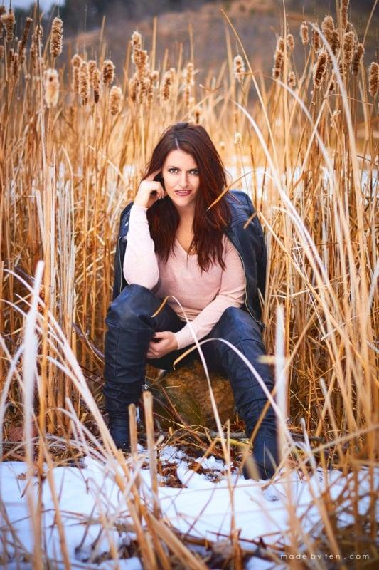 Centennial Park Confidence Portrait Photographer GTA Ontario