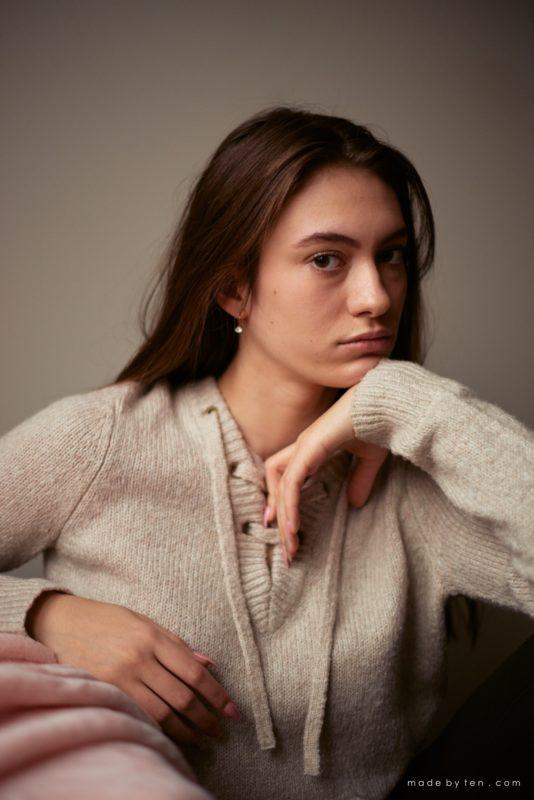 Closeup of Girl