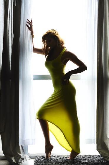 Sensual Dress Boudoir Portrait